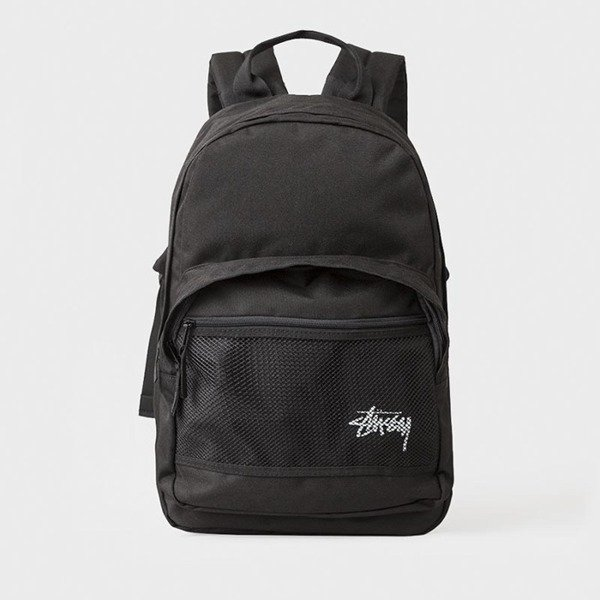 Stussy plecak Stock Backpack black 133018