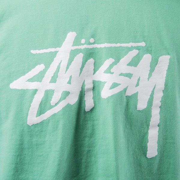 Stussy t-shirt koszulka Stock green SP16