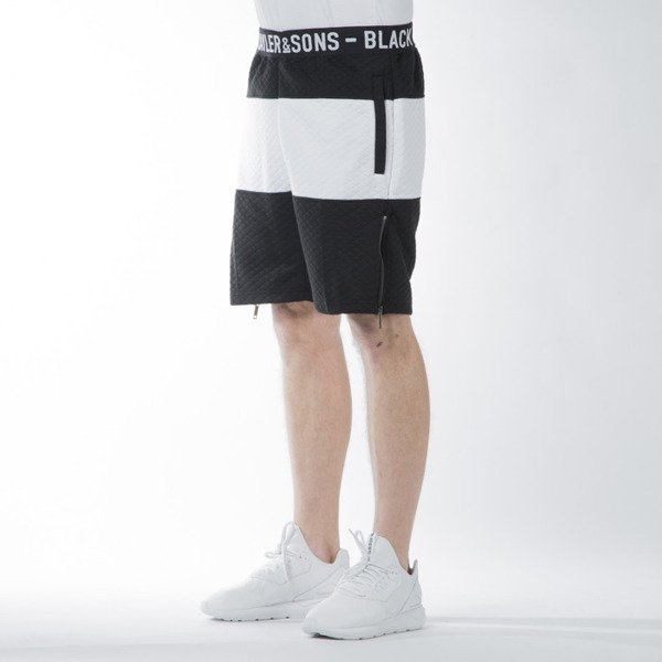 Szorty Cayler & Sons BL ACE Sweat Shorts black / white (BL-CAY-SS16-AP-36)