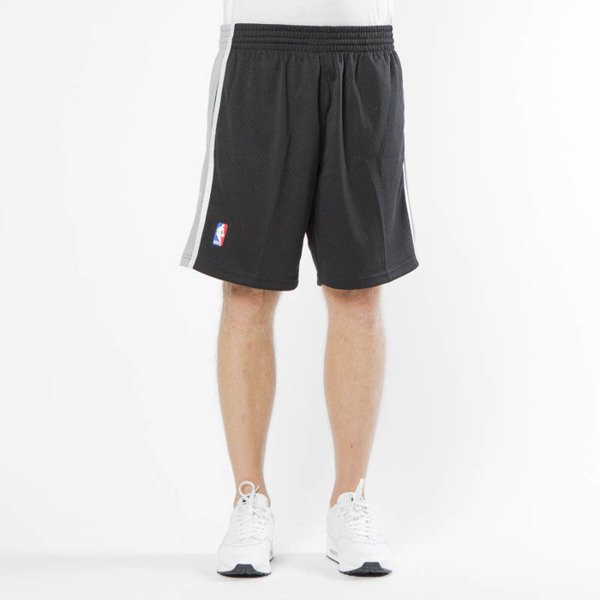 Szorty Mitchell & Ness San Antonio Spurs black Swingman Shorts