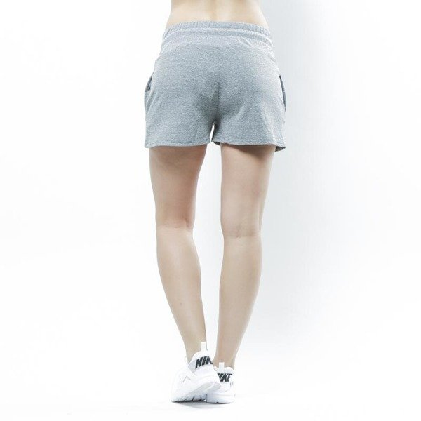 Szorty Stussy Puff Stock Gym Shorts grey WMNS