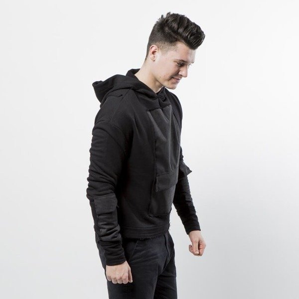 Urban Flavours bluza Mental Pocket Hoodie black
