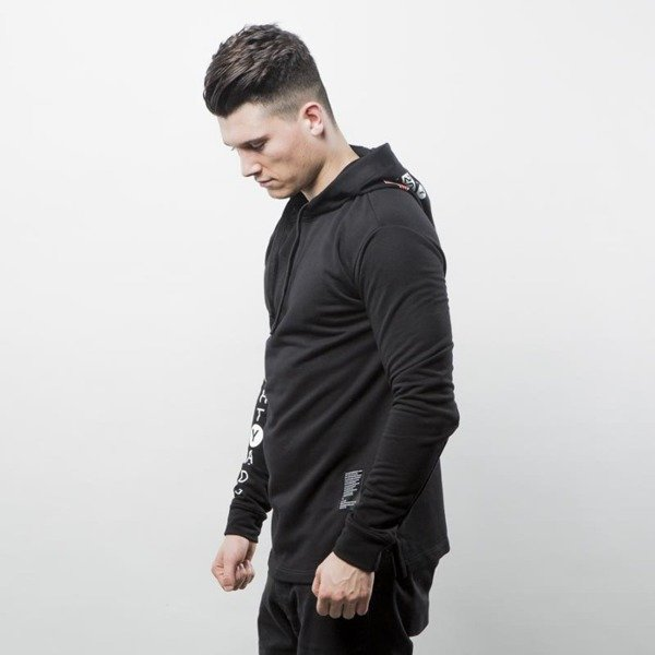 Urban Flavours bluza NYC Crown Hoodie black