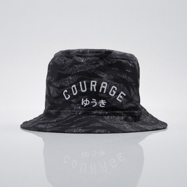 We Peace It czapka bucket Courage camouflage