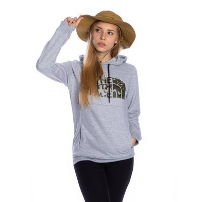 Bluza damska The North Face W Drew Peak Hoodie szara