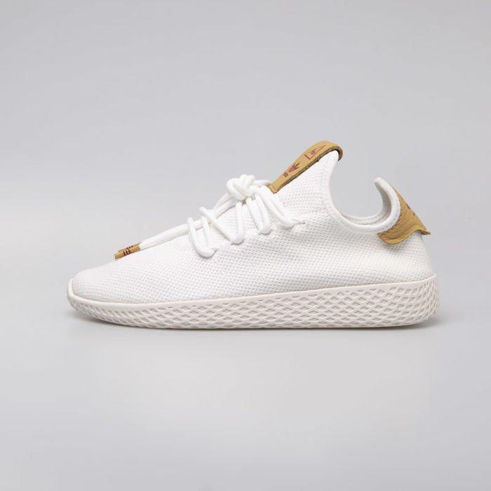 duża zniżka na stopach o całkiem miło Sneakers WMNS Adidas Originals Pharrell Williams Tennis Hu  ftwwht/ftwwht/rawsan (D96444)